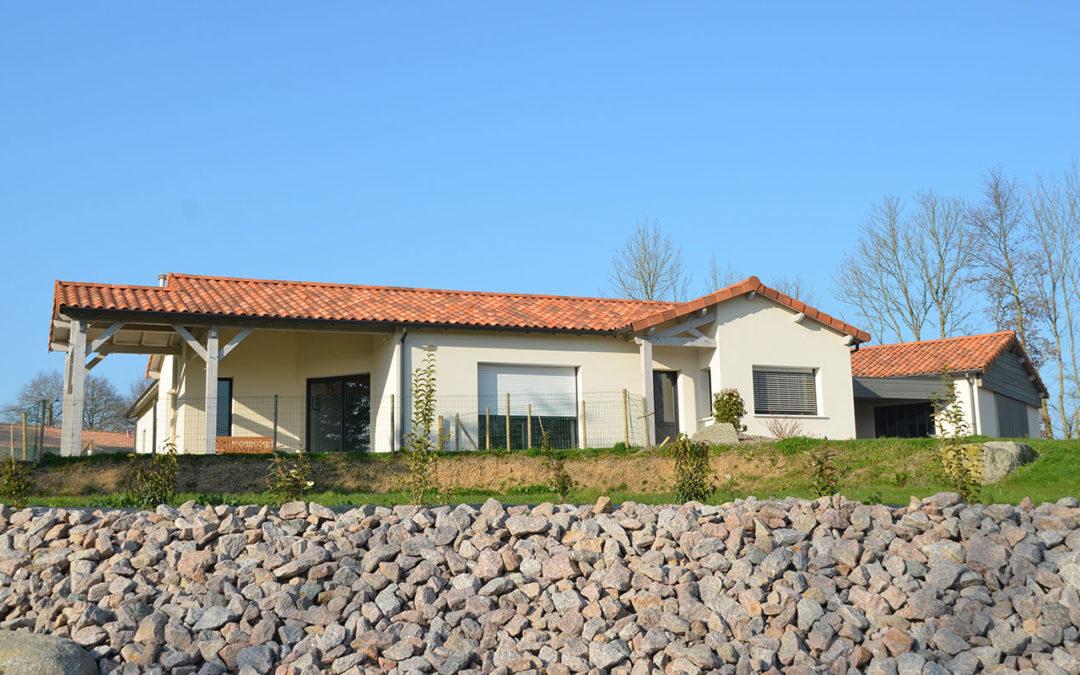 Maison en briques