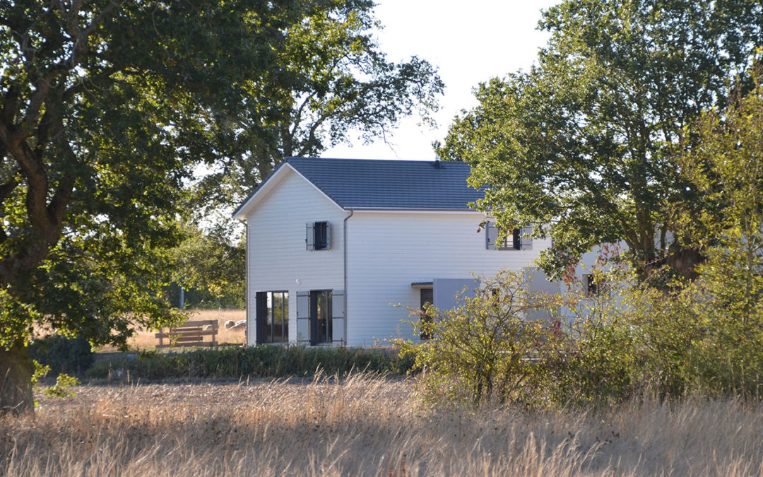 Maison bioclimatique évolutive RT2012