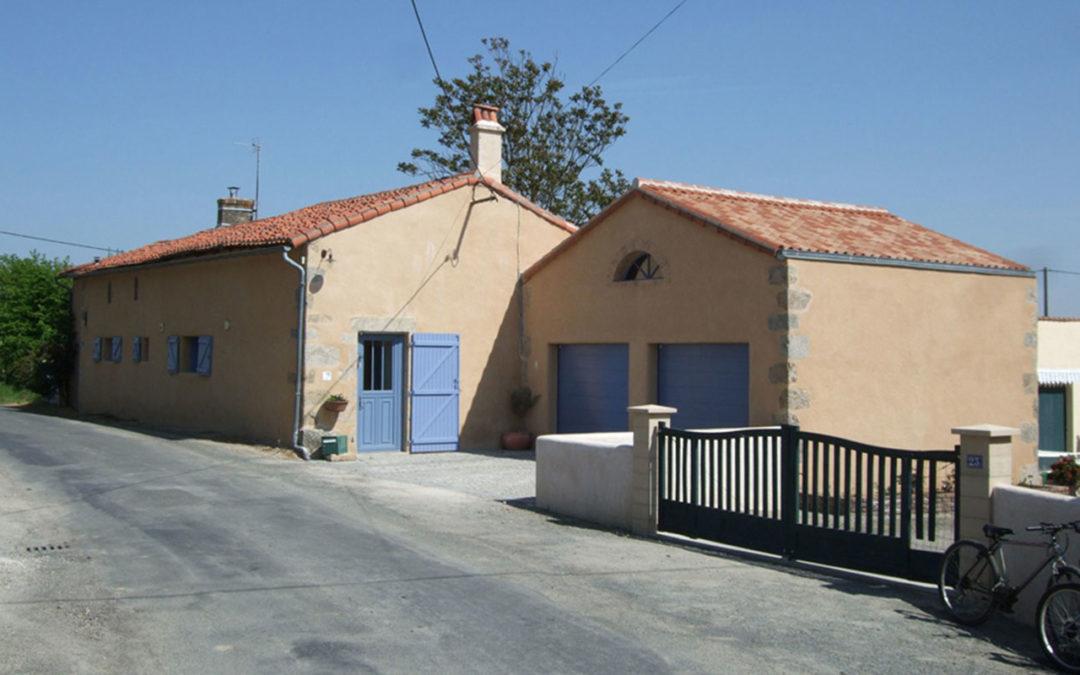 Extension maison ancienne